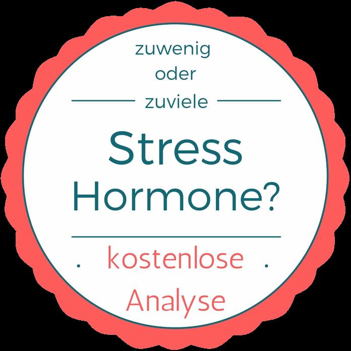 zuwenig oder zuviel Stress-Hormone? kostenlose Analyse